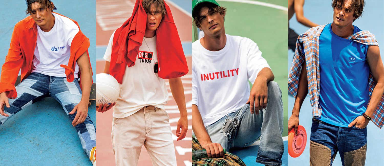大人が頼れるのはやっぱり〈ディーゼル〉!夏のTシャツに似合う主役級デニム!