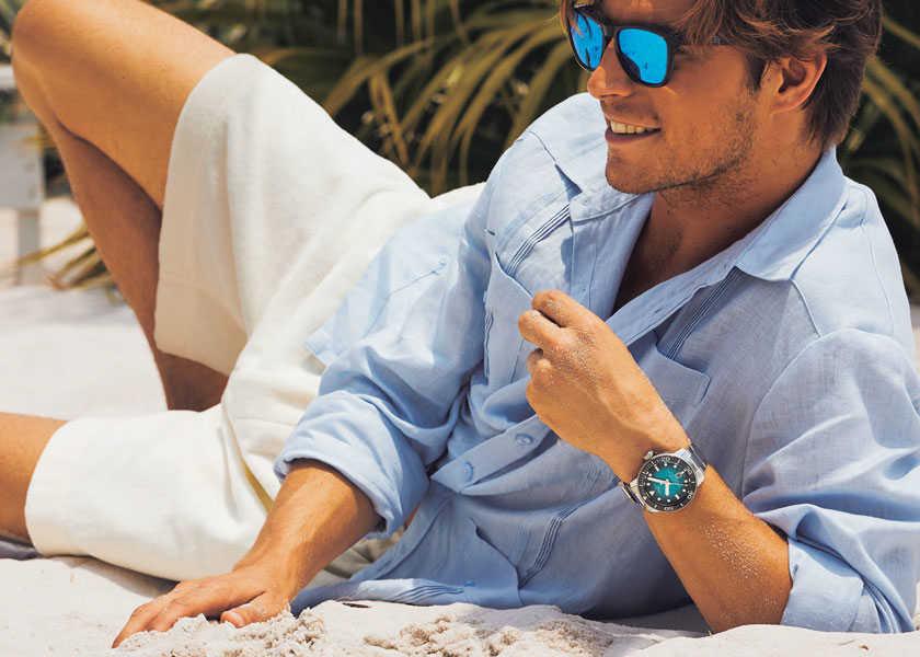 男心をくすぐるのは〈ティソ〉の骨太海時計!本格派ダイバーズでアクティブな夏を満喫する!