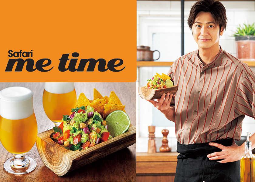 "Hayami's Dish夏のビール時間にぴったりな""速水流""おつまみ作り。【アボカドと ひよこ豆のワカモレ編】"