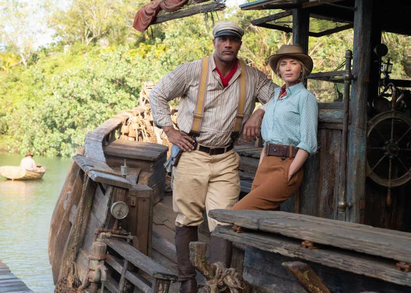 今週末は、この映画に胸アツ!冒険気分が味わえる!『ジャングル・クルーズ』