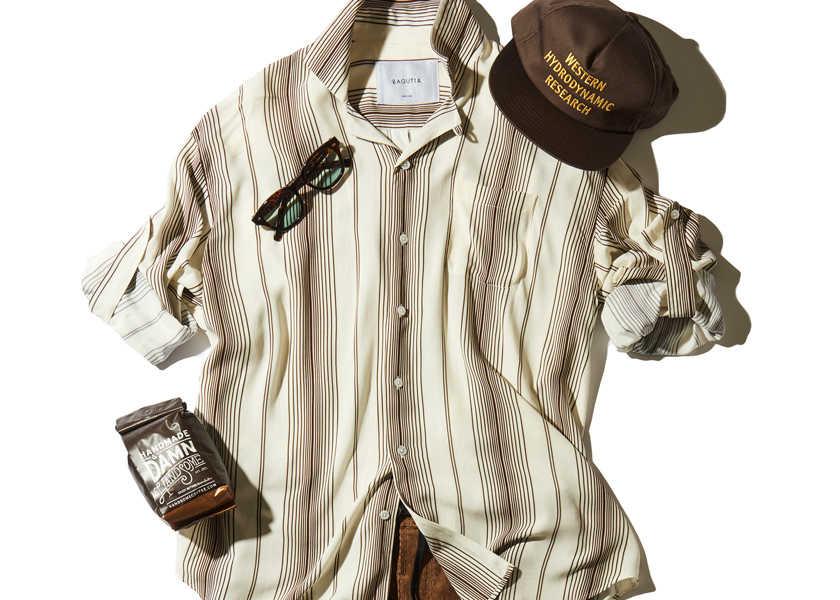 大人のお洒落コーデ集!自然とこなれるストラップ付きシャツコーデ!
