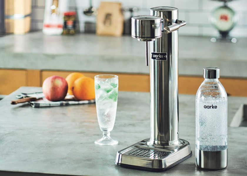 オトコ心を刺激する「シビれる家電」 vol.13キッチンに映える男らしいデザインの炭酸水サーバー!