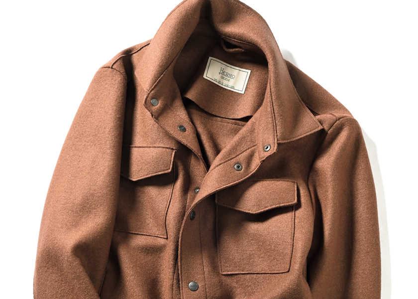 Catch the Wave! [ヘルノ/オーガニックボイルドウールのシャツジャケット]Tシャツに軽く羽織れる、動物や環境に優しい〈ヘルノ〉のシャツジャケット!