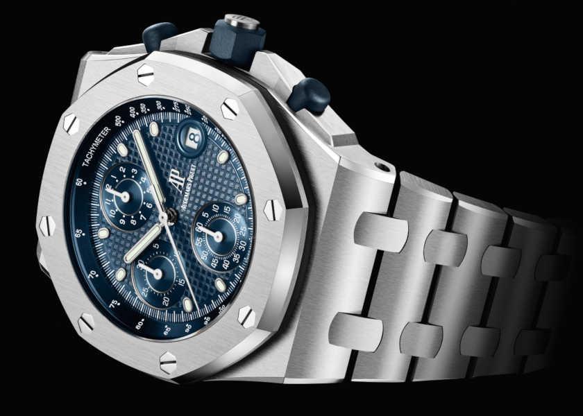 〈オーデマ ピゲ〉の新作時計はシックなナイトブルーが超絶お洒落!