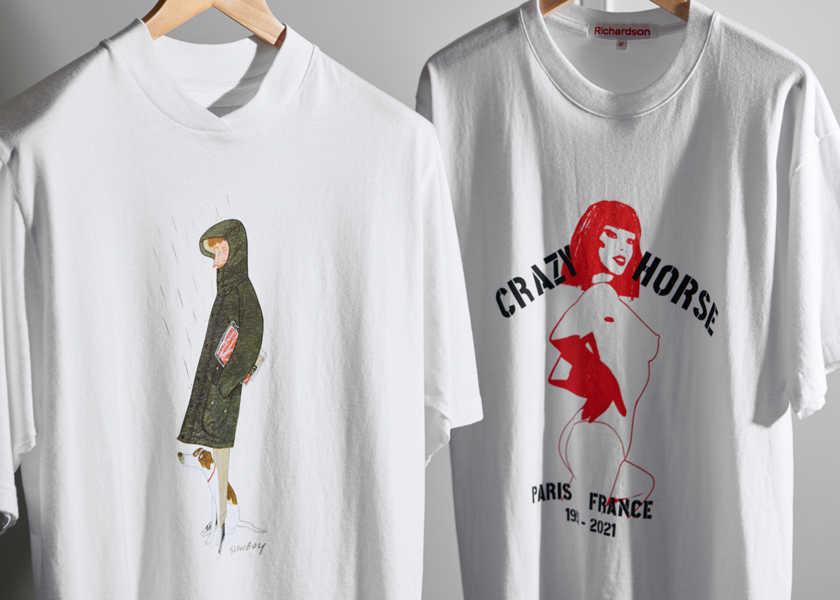 セットアップ姿もサマになる、話題のコラボ・別注Tシャツ5枚!