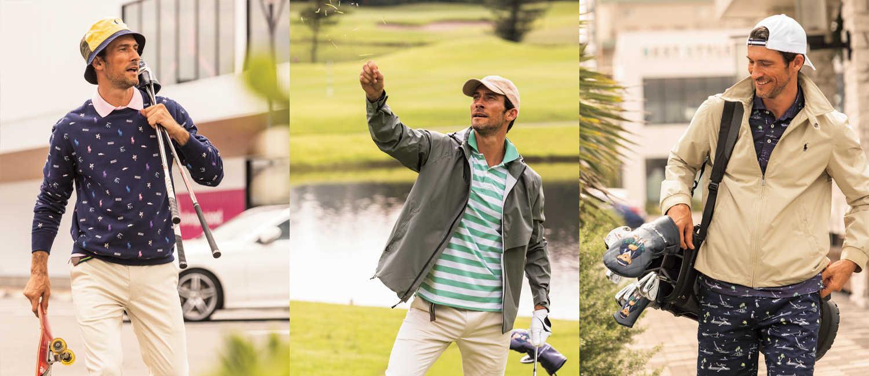 アメカジ好きなら、街でもゴルフでも〈ラルフ ローレン〉!一歩先行くゴルファーはボーダーレスを目指す!