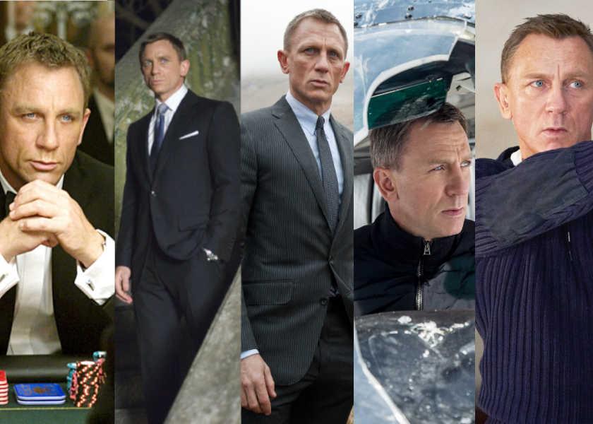 『007/ノー・タイム・トゥ・ダイ』公開目前!ダニエル・クレイグ版ボンドの魅力を振り返り!