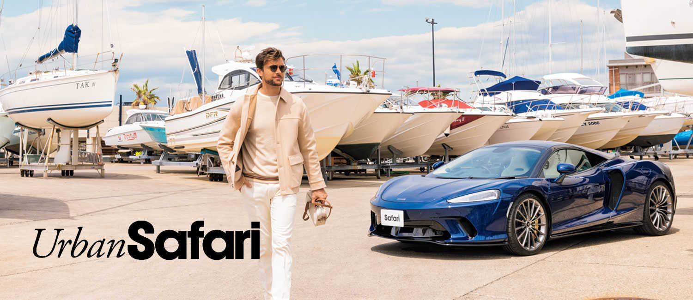 速さとスタイリッシュさが違う〈マクラーレン〉GT。男のときめく週末に潮の香りとスーパーカー。