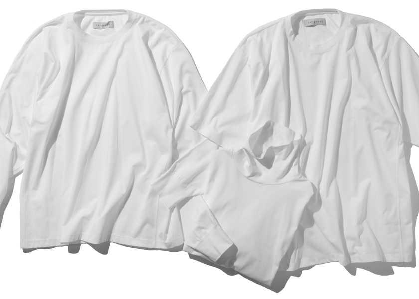お洒落に役立つアイテム集!ホント!? 黄ばみとは無縁の白Tシャツ!