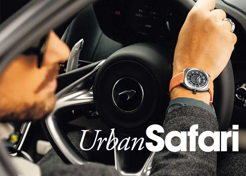 in Your CLOSETアクティブな都会の時間を支える、手元の相棒。