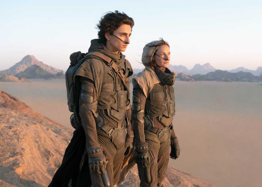 今週末は、この映画に胸アツ!未体験のビジュアルに圧倒される!『DUNE/デューン 砂の惑星』