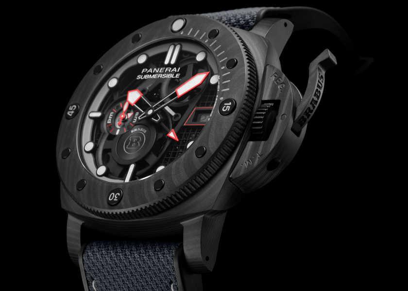 〈パネライ〉と〈ブラバス〉のコラボ時計は、超絶お洒落な限定スケルトンモデル!