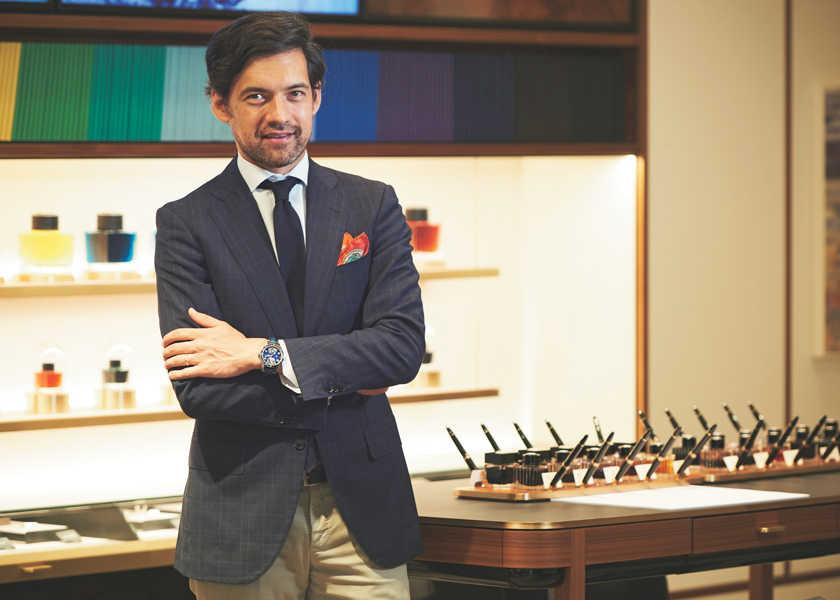 ビジネスセレブの「時を紡いで」 vol.31モンブラン ジャパン CEO――マーティン・ゴーディアン