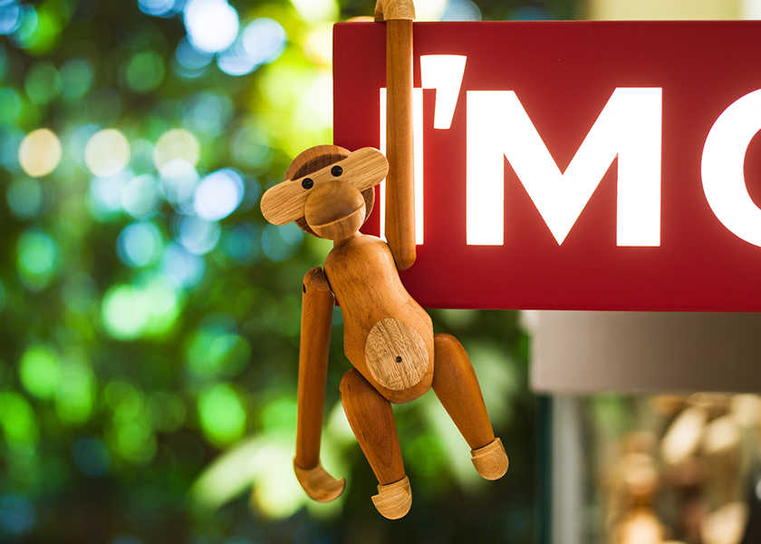 部屋のアクセントにうってつけ!〈アイムオーケー〉の木製オブジェに癒される!
