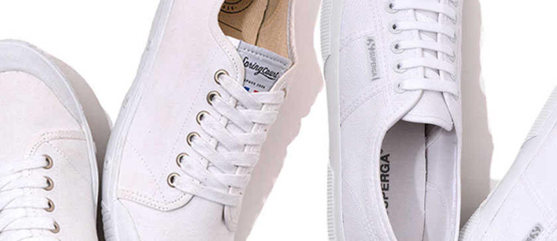 夏靴の鉄板!使えるキャンバス白スニ5選!