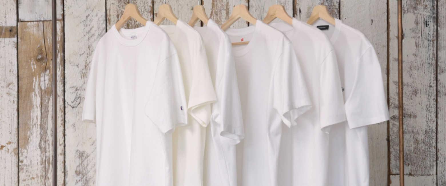 大人の白Tシャツ6選!【チャンピオン編】