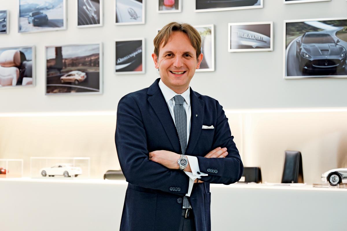 ビジネスセレブの「時を紡いで」マセラティ アジアパシフィック 地域統括責任者――ルカ・デルフィノ