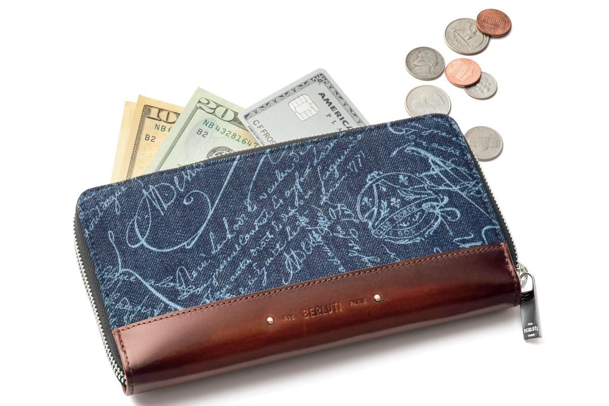 〈ベルルッティ〉持っているだけでオーラを放つ贅を尽くした長財布!