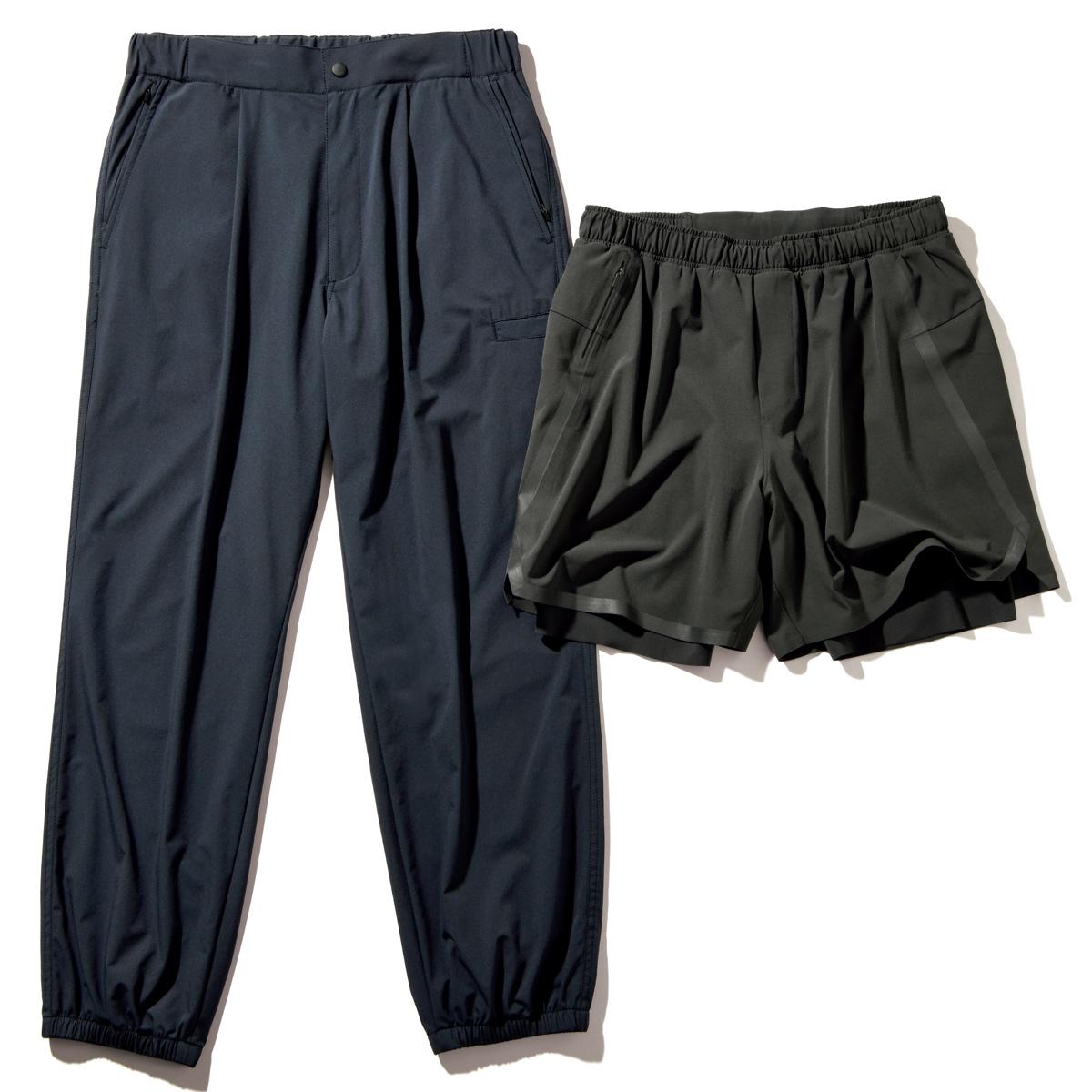 【マッツ・ミケルセンほか】もちろん楽だし軽快、かつ見た目も新鮮⁉ 移動用パンツが 一気にシャカシャ化!