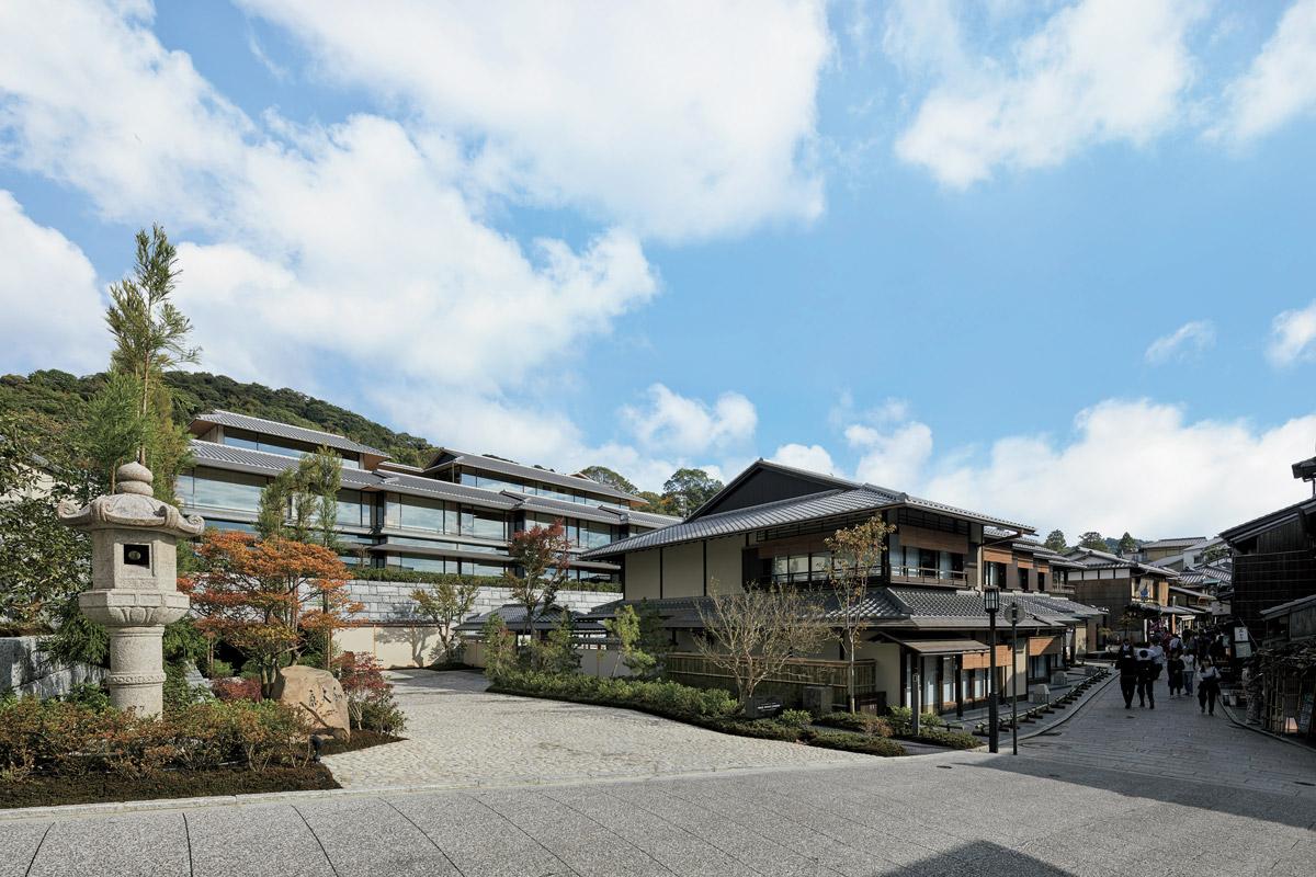 〈パーク ハイアット 京都〉一度で二度美味しいレストラン!