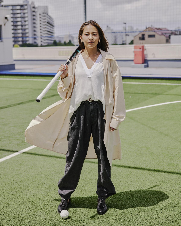 オリンピック出場の【瀬川真帆】が新スタイルで登場!