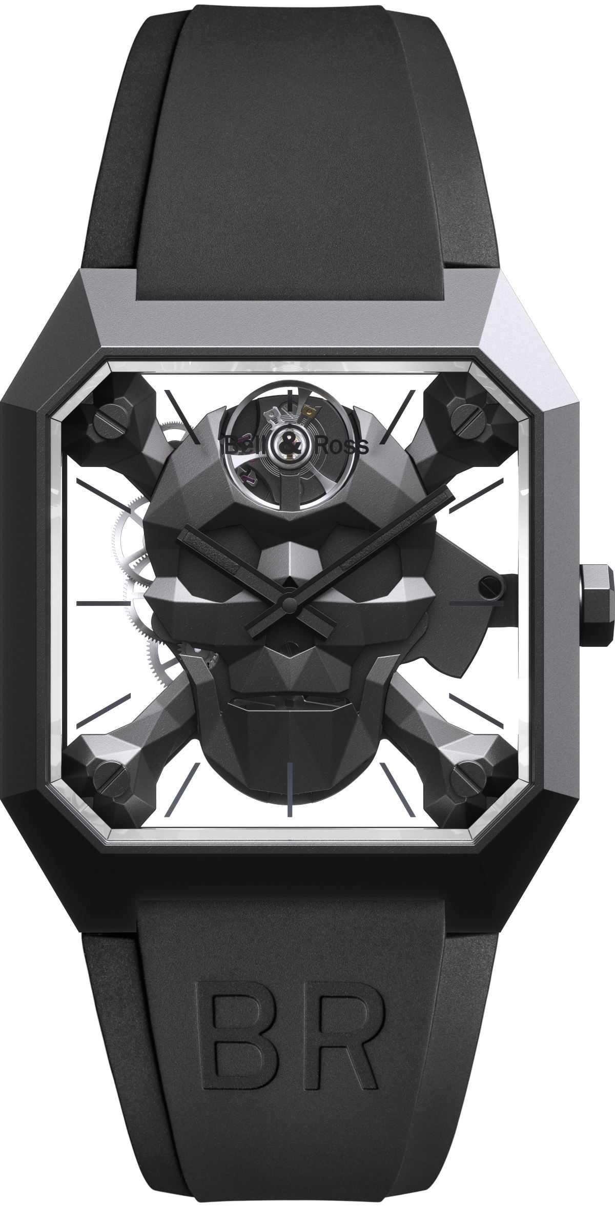 スカル時計