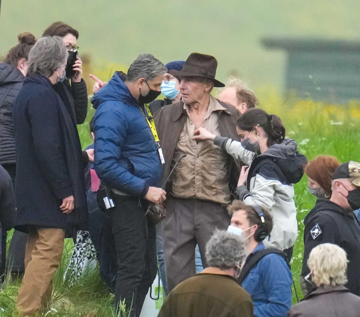 ハリソン・フォードが撮影を開始! 『インディ・ジョーンズ5』の最新ロケ写真を入手!