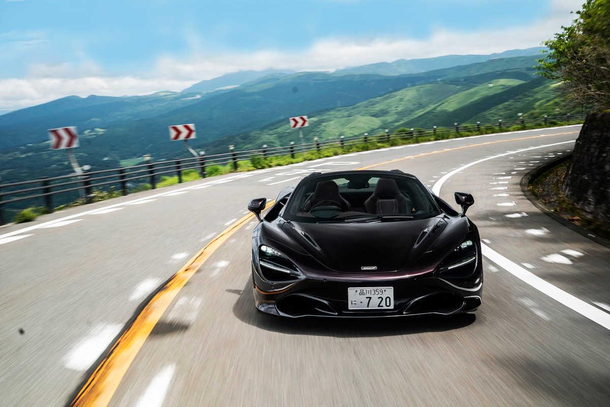 スーパーカーでも運転は快適!〈マクラーレン〉 720Sスパイダーで週末ドライブへ!