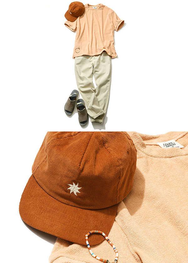 女性からの好感度増し! カラーT&小物の大人らしい着こなし方