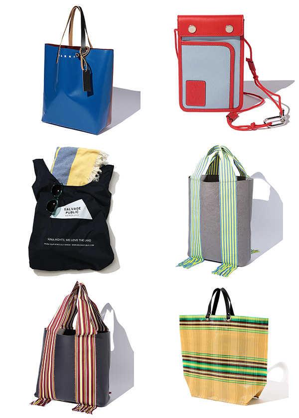 夏スタイルを確立するなら洋服以上にバッグが重要!?