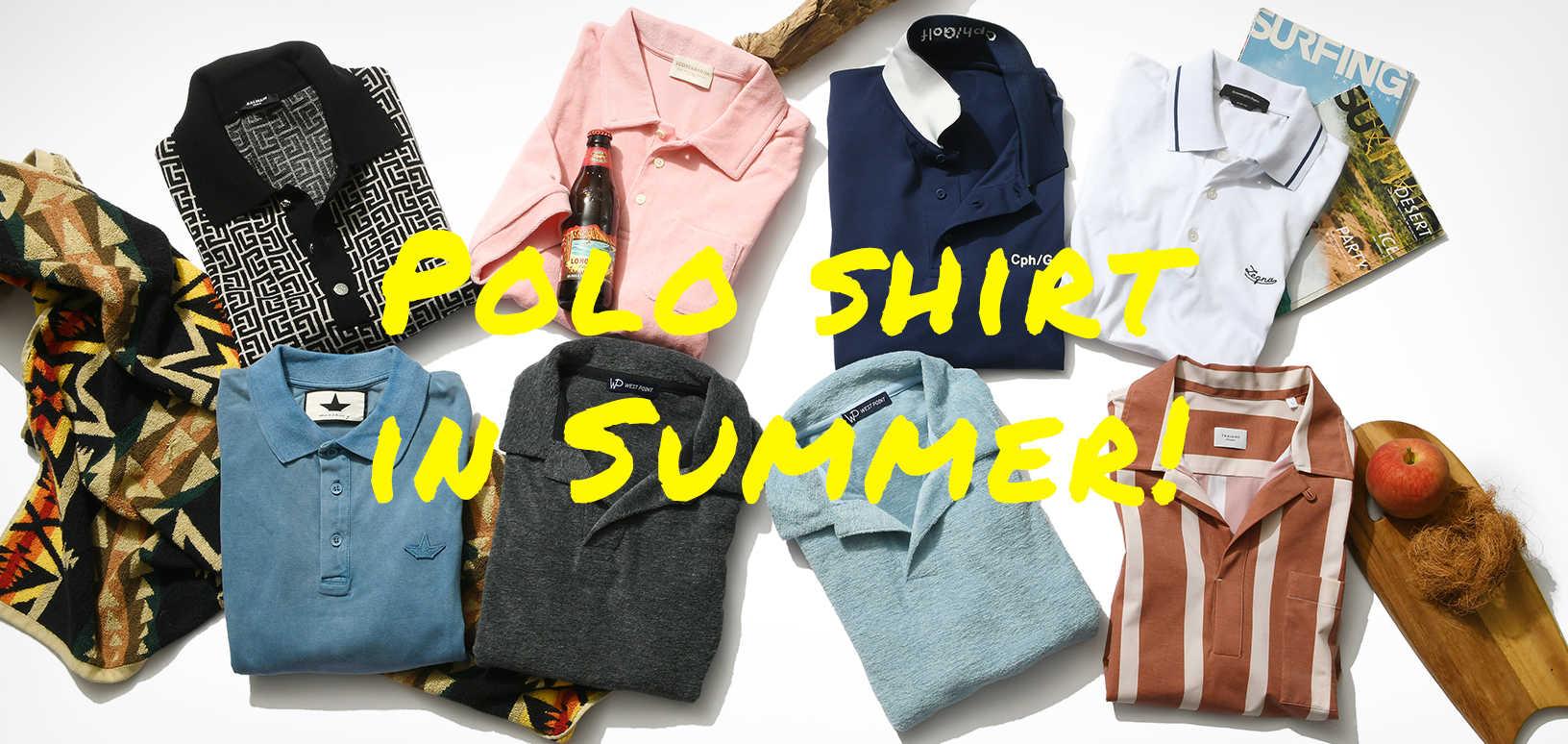 Polo shirt in Summer!