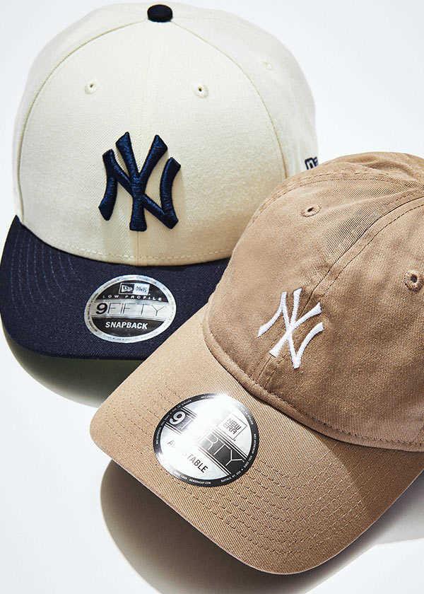 """〈ニューエラ〉別注キャップ再び。今回は待望の""""ヤンキース""""ロゴ!"""