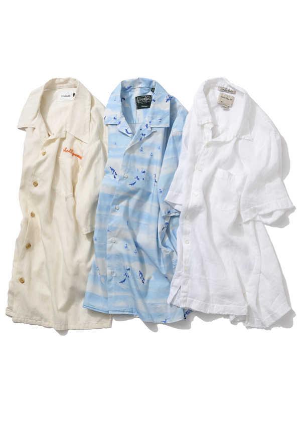 """""""限定""""、""""着心地""""、それとも""""柄"""" !? 夏を彩るシャツはどれにする?"""