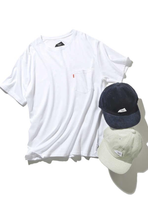 毎日でも使える〈サルベージ パブリック〉のTシャツ&キャップ!
