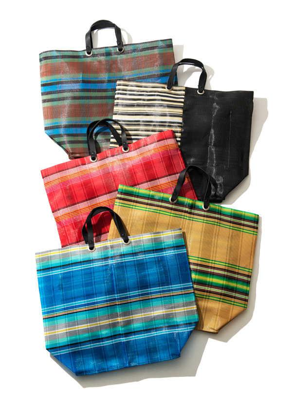 カラーリングと素材感がたまらない〈ボンチィ〉の夏バッグ!