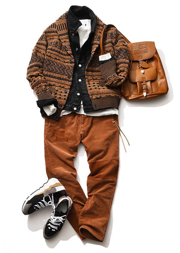 ニットジャケットを冬でも上手に着こなす方法って!?