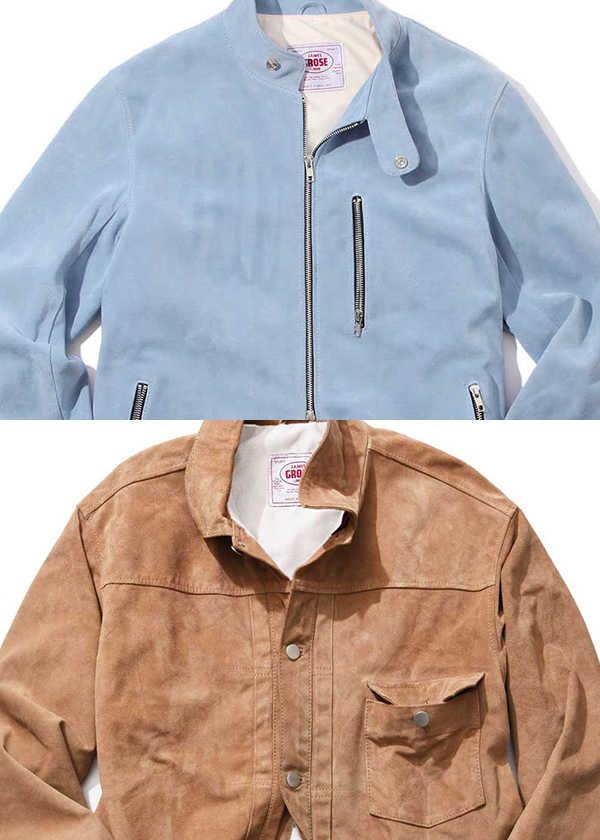 〈ジェームス・グロース〉のレザージャケットで春支度!