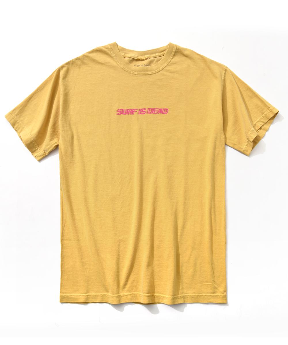 クルーネックプリントロゴTシャツ