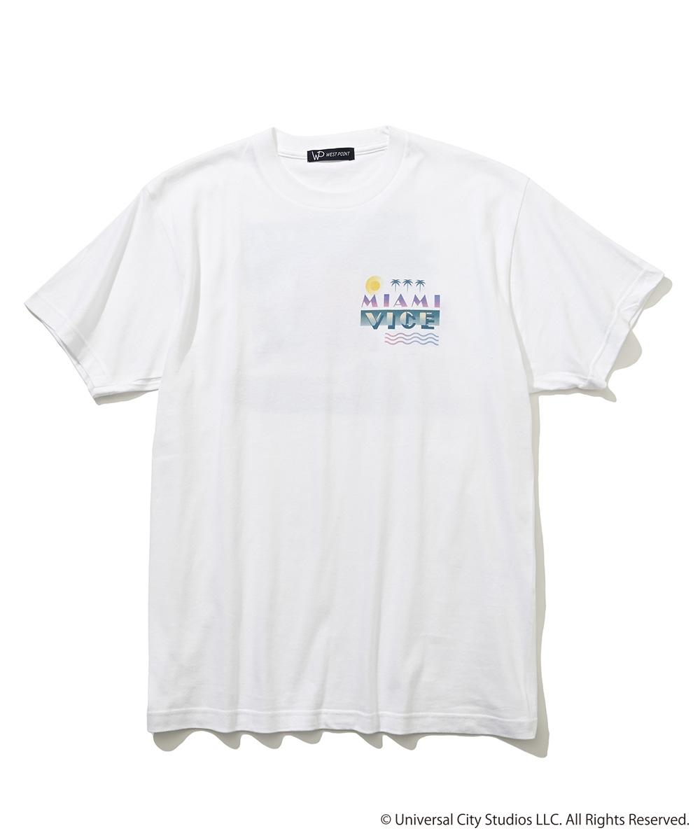 【限定商品】「マイアミ・バイス」コラボ Tシャツ