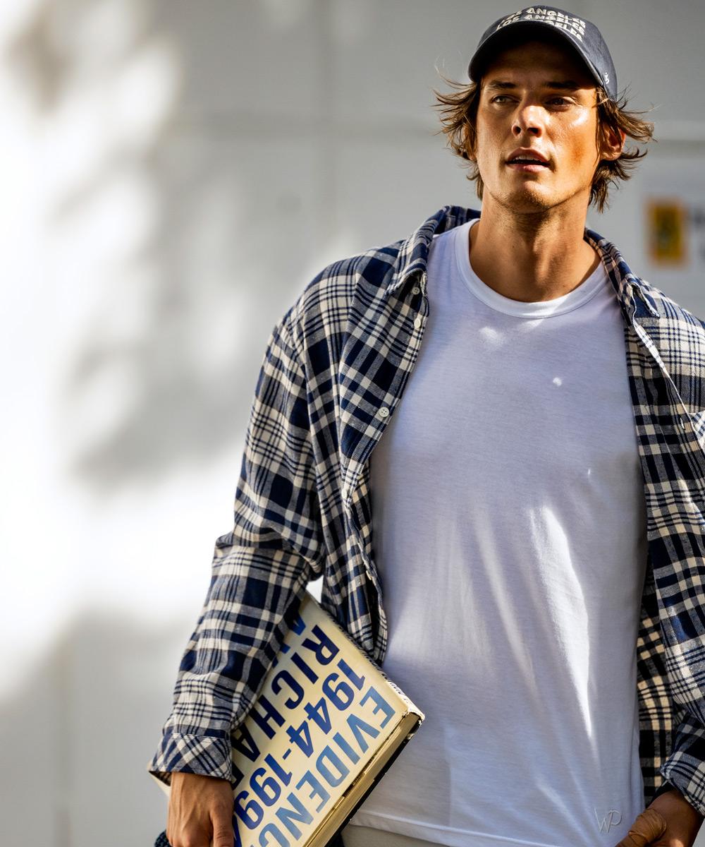【限定商品】ウォッシュドチェックシャツ