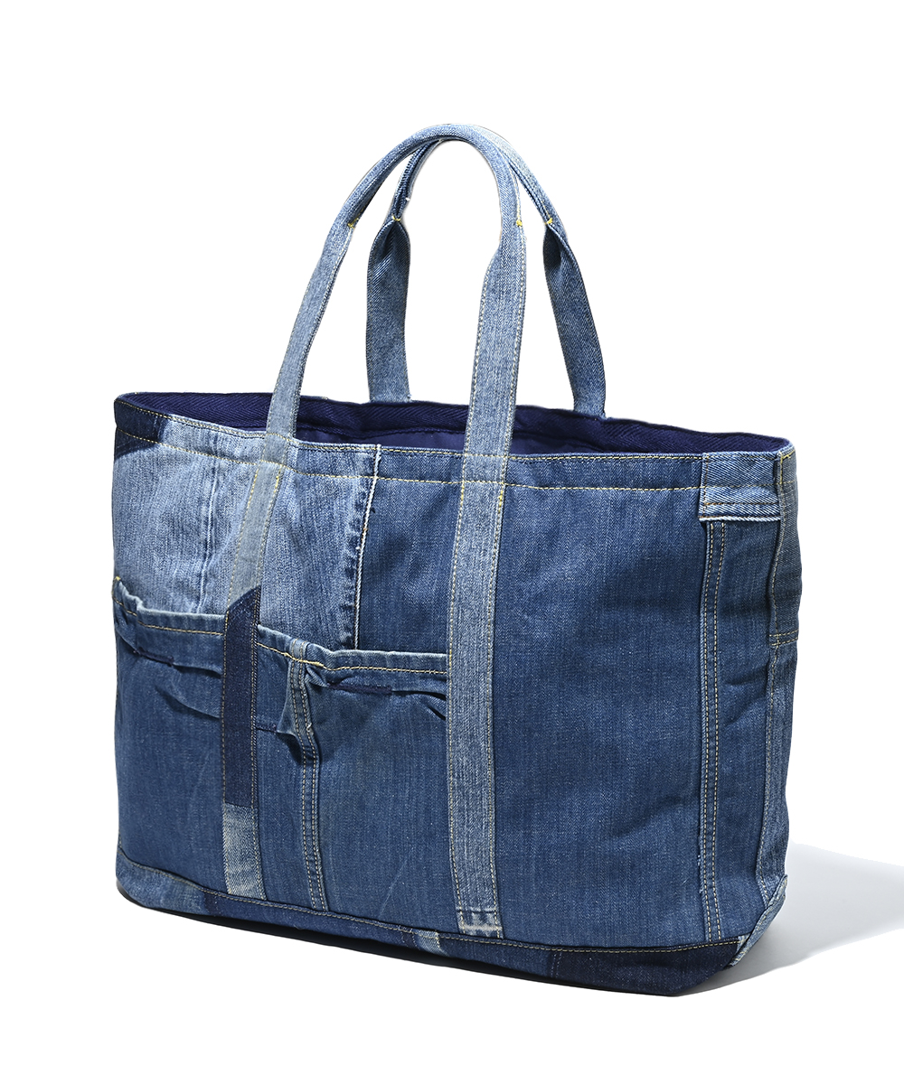 【2月下旬入荷予定 サファリ リユース プロジェクト 限定商品】デニムトートバッグ