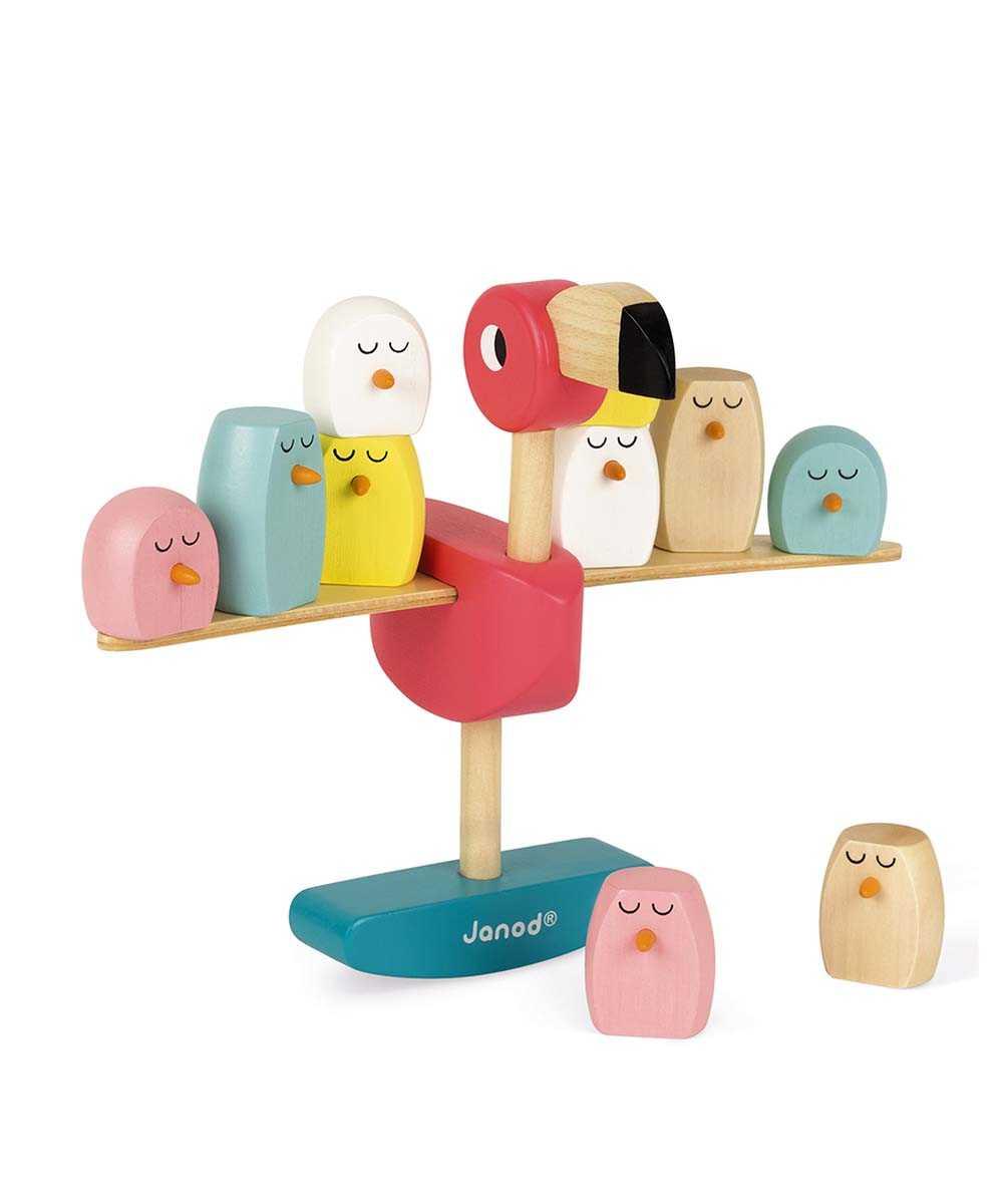 ジグロス・バランスゲーム フラミンゴ キッズ用おもちゃ
