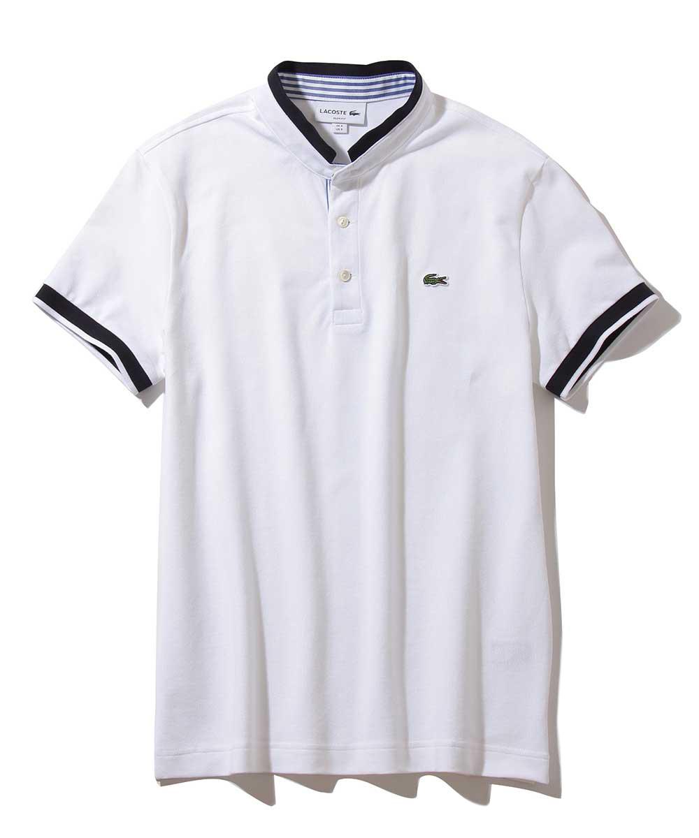 マオカラーポロシャツ