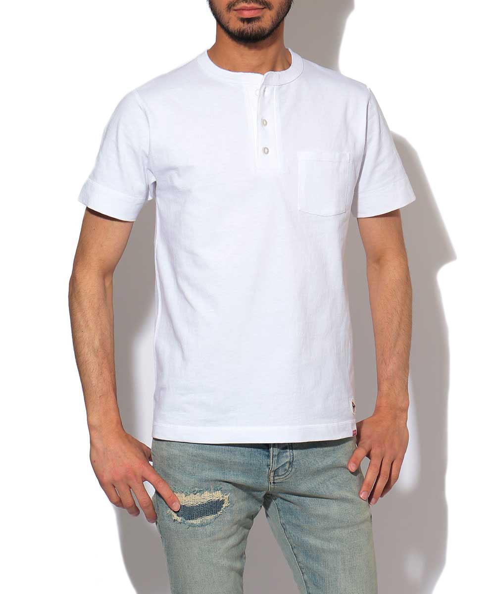 フェルコ×ヘルスニット ヘンリーネックTシャツ