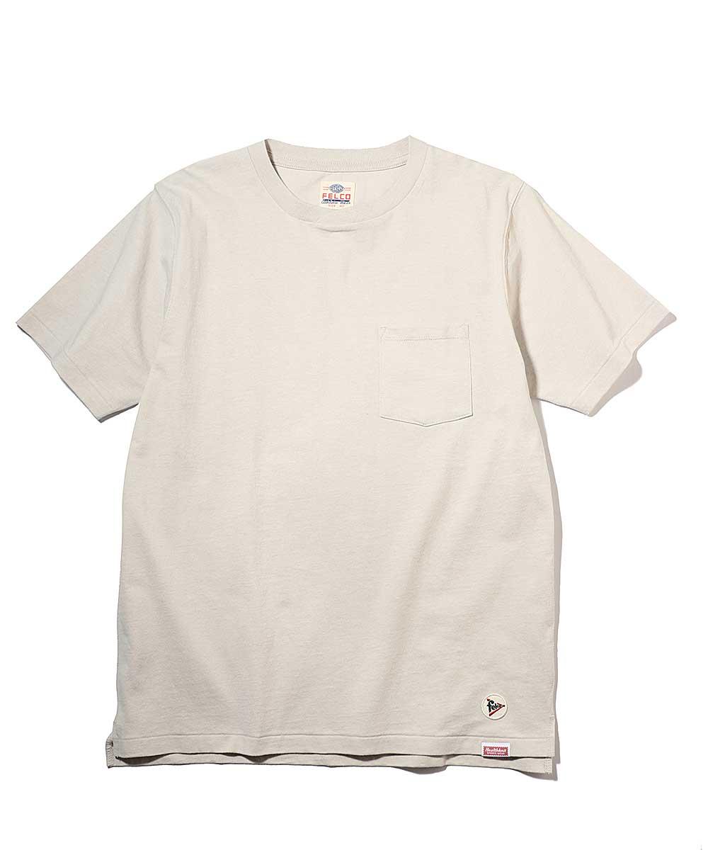 フェルコ×ヘルスニット クロスクルーネックTシャツ
