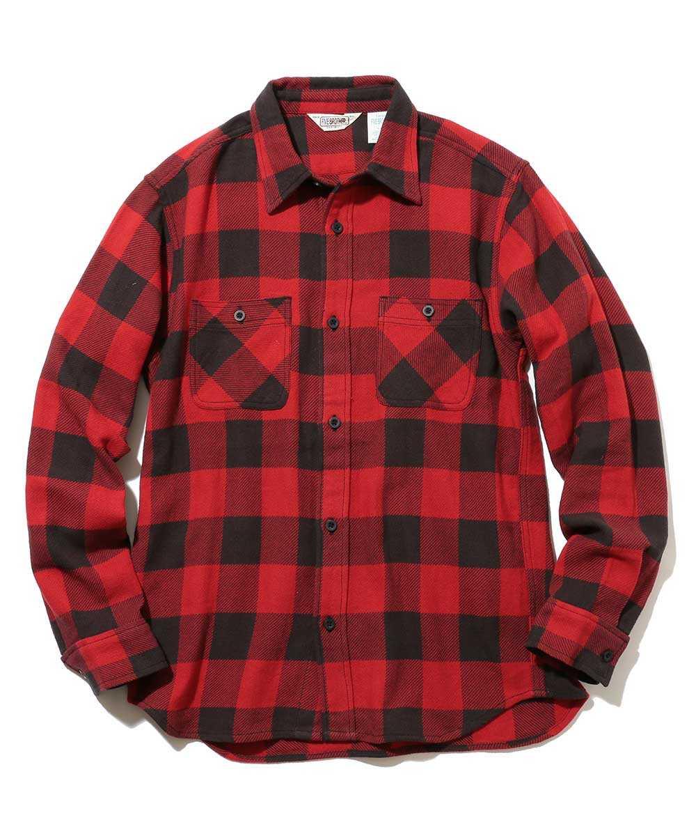 ヘビーフランネルワークシャツ