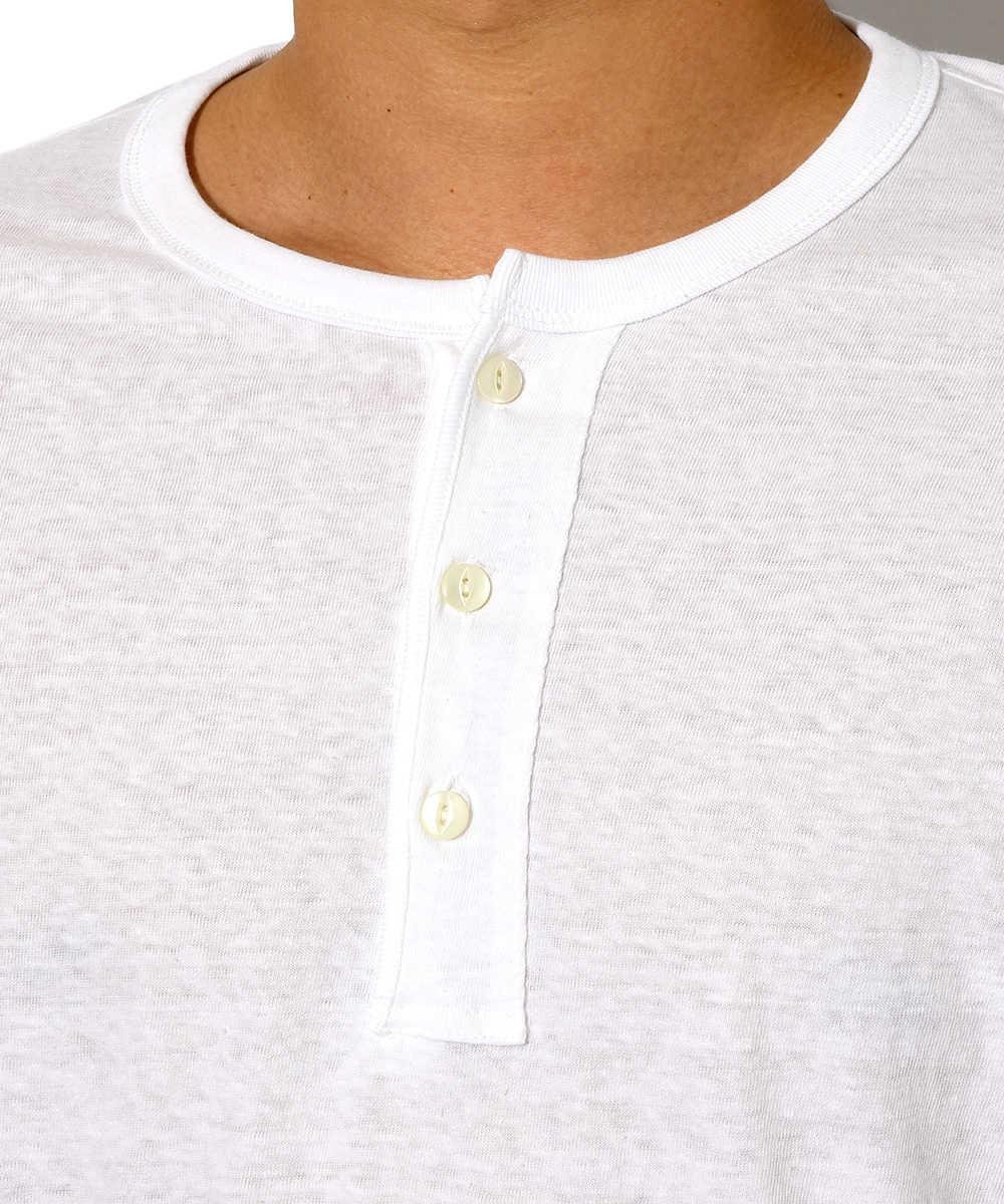 【限定商品】ヘンリーネックTシャツ