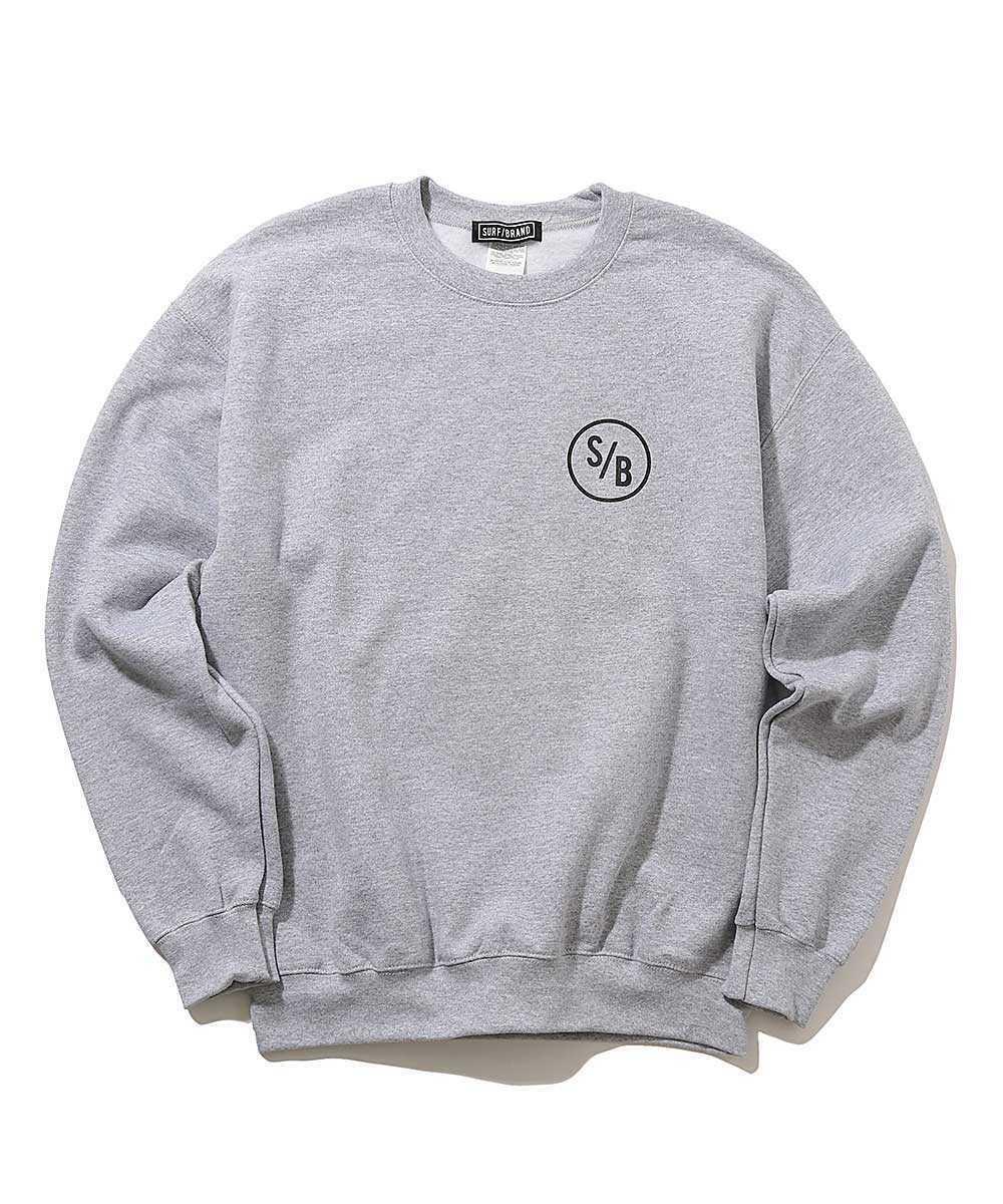 【別注・限定販売商品】バックプリントスウェットシャツ
