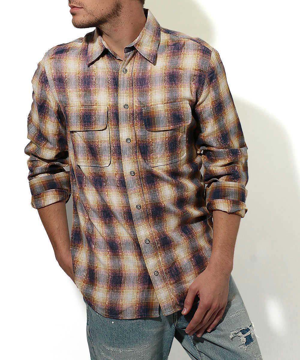 ブリーチチェックシャツ
