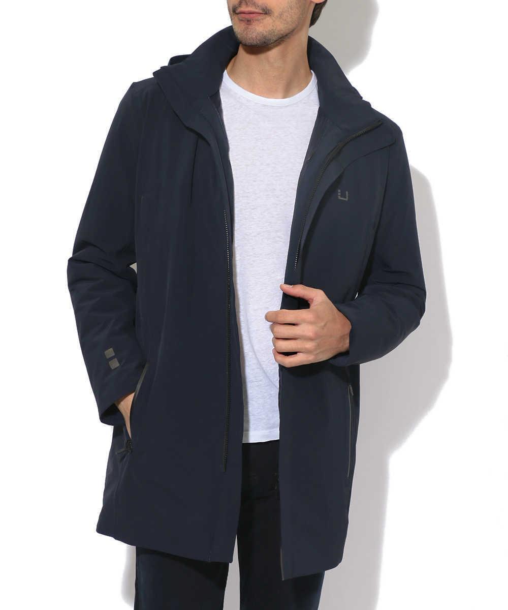 ミドル丈コート